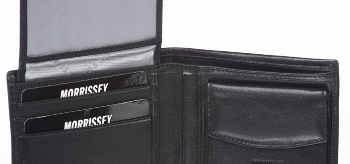 Morrissey Italian Leather Men's Wallet MO10346