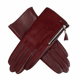 Dent Women's Leather Gloves 7-2378  Bordeaux