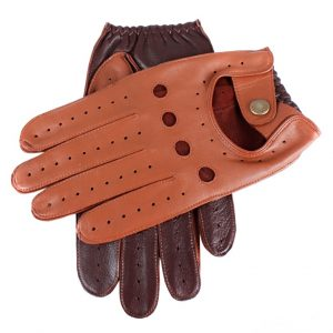 Dents 'Waverly' Mens leather driving gloves