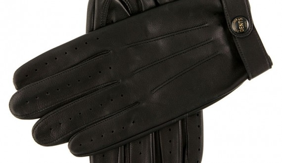 Dents 'Fleming' Leather Driving Gloves