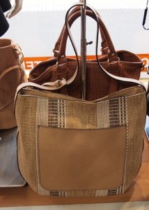 Gianni Chiarini Italian Leather Weave Handbag