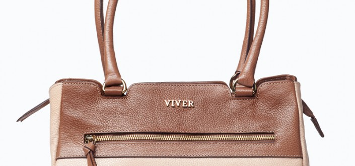 Viver handbags style 929 two/tone