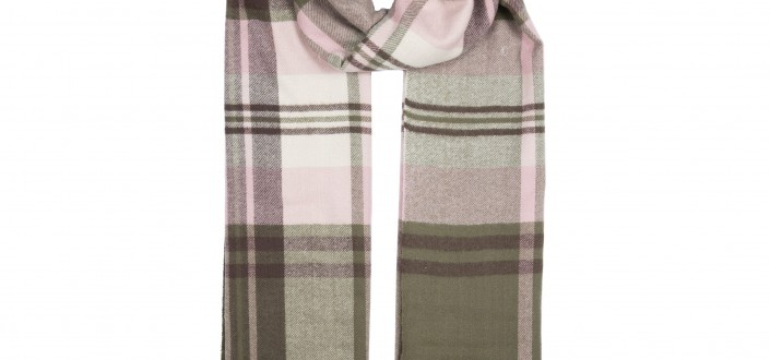 Bold Checked Scarf style 4-2612
