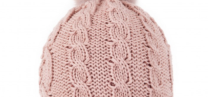 3-3284 Cable Knit Hat